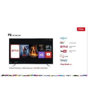 Buy TCL 55P6US 139 7 cm ( ) Ultra HD (4K) LED Television