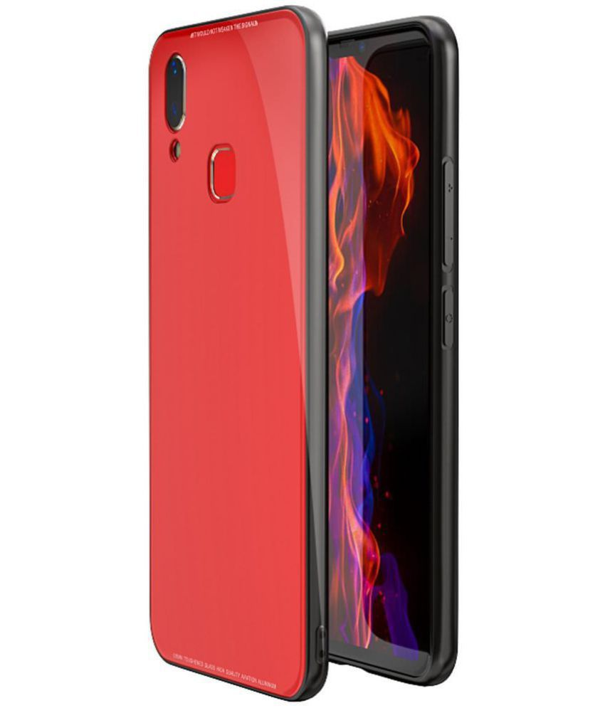 check out cafbc 11697 RealMe 1 Mirror Back Covers NXG4U - Red