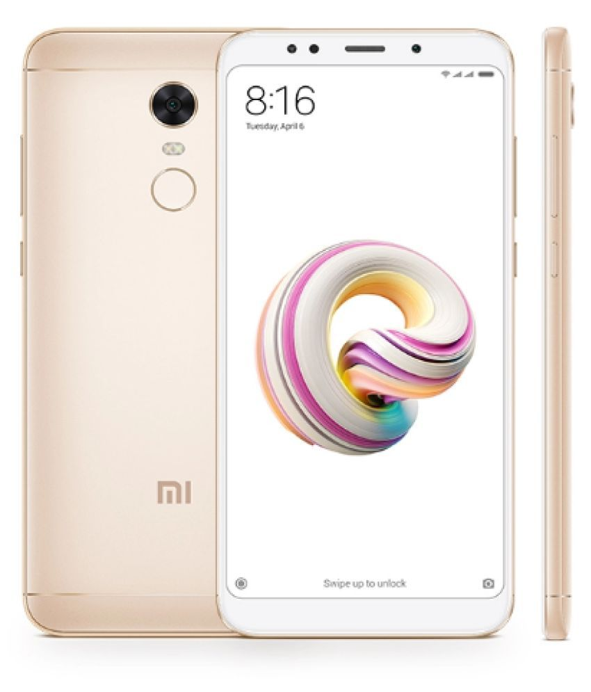 Open Box Xiaomi Mi Redmi Note 5 3gb 32gb Gold Ram 3 Gb 6 Month