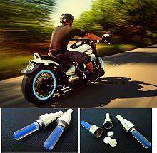 Universal Car/Bike Tyre LED Light for Valve Cap with Motion Sensor (Set of 2) - Magic Lights
