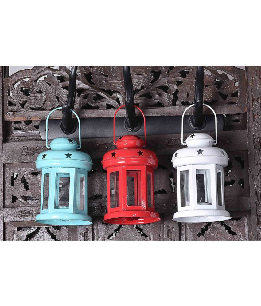 Heaven Decor Table top candle holder Hanging Lanterns 15 - Pack of 3