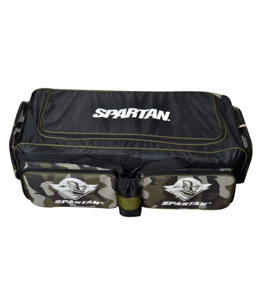 46534a2df6e Spartan MS Dhoni KB-509 Kit Bag with Wheels (Cricket)  Buy Online at ...