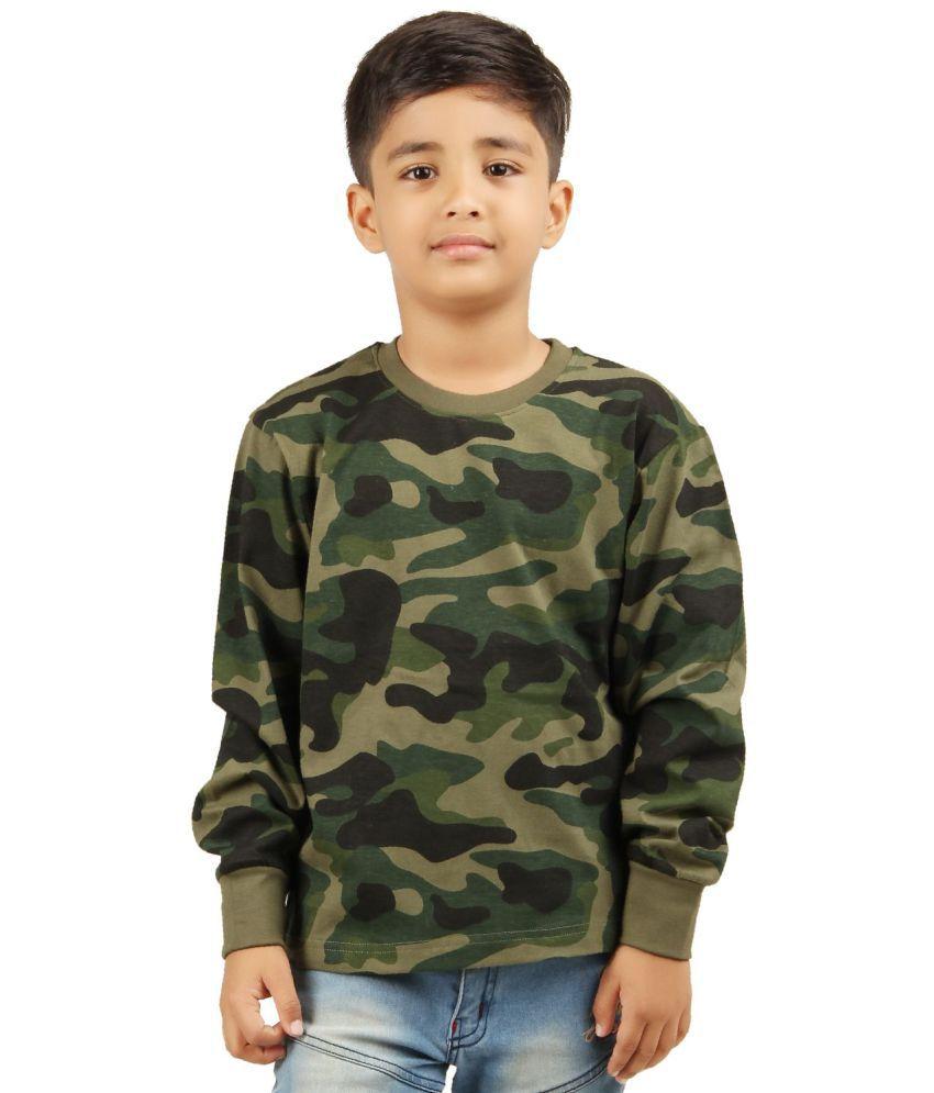 Clifton Boys Army T-shirt R neck Full Sleeve -Olive-(6-7Years)M - Buy  Clifton Boys Army T-shirt R neck Full Sleeve -Olive-(6-7Years)M Online at  Low Price - ... 99b9606a9b53