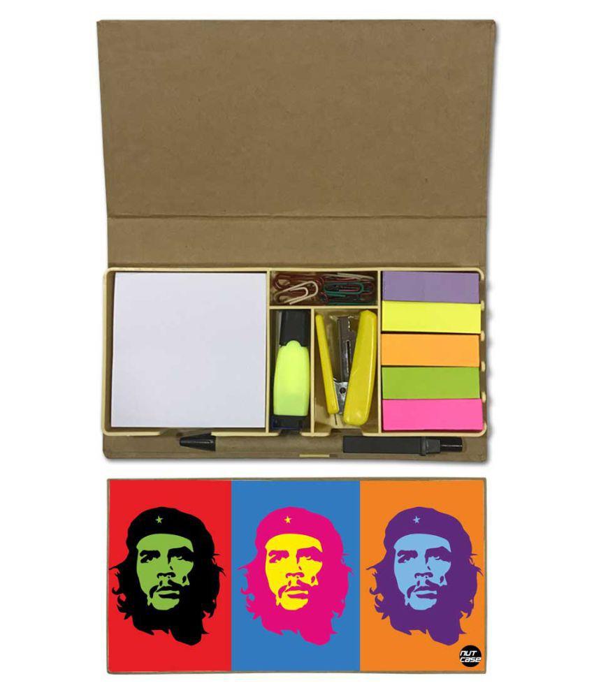 Nutcase Designer Stationary Kit Desk Customised Organizer Memo Notepad - Pop Art Icon