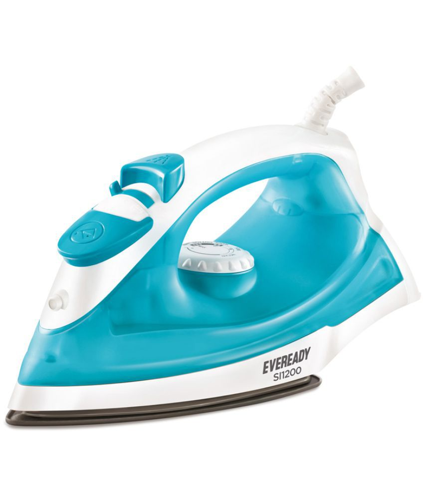 Eveready SI1200 Steam Iron white and sky blue
