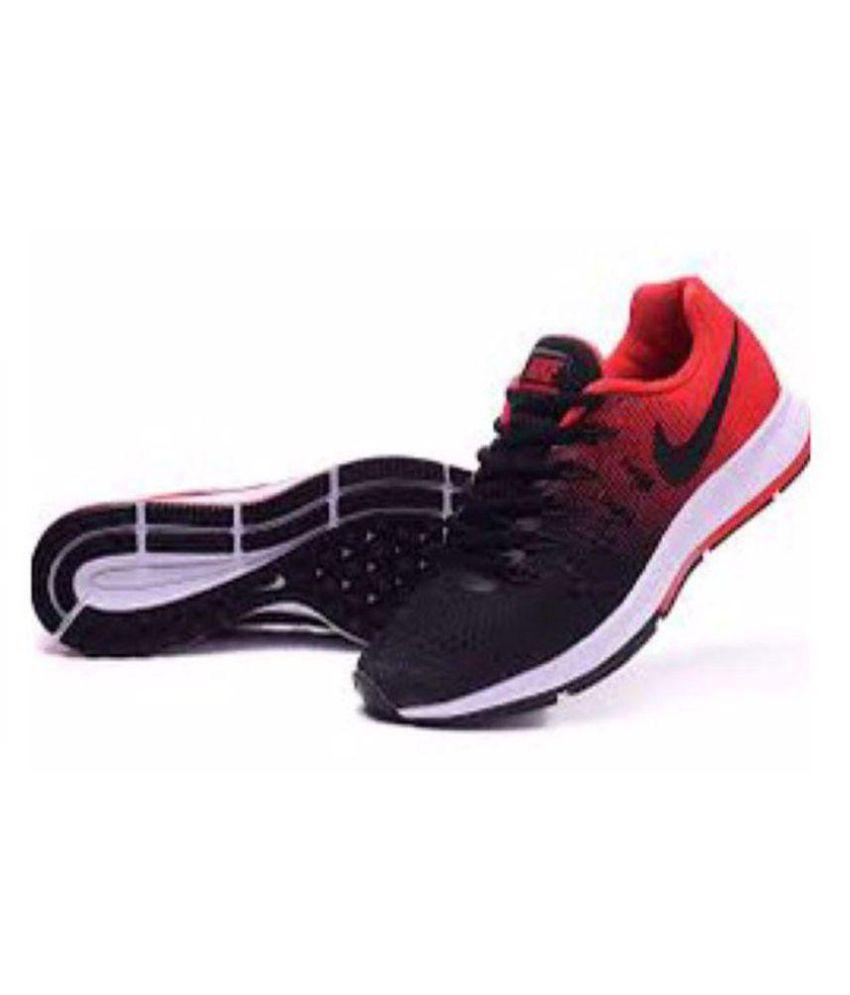 ... best price nike brand zoom pegasus 33 black red running shoes 56278  553f9 67d50c283