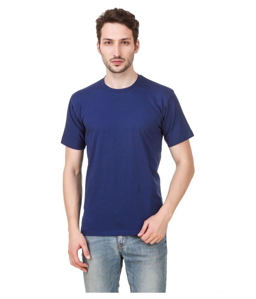 Vinayak Fashions Blue Half Sleeve T-Shirt
