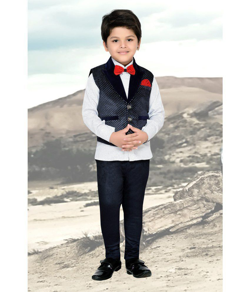 20315bb49 AJ Dezines Kids Party Wear Suit Set For Boys - Buy AJ Dezines Kids Party  Wear Suit Set For Boys Online at Low Price - Snapdeal