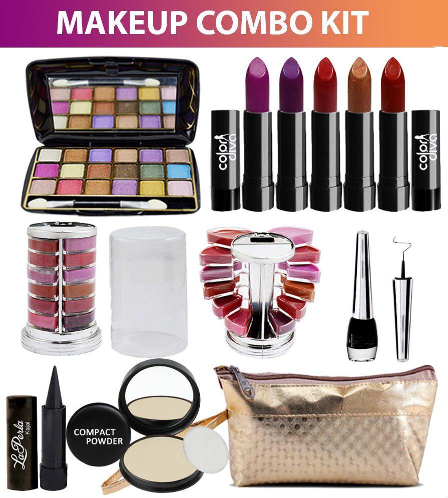 Adbeni Combo Makeup Sets C90A Pack Of 11 Makeup Kit no.s ...