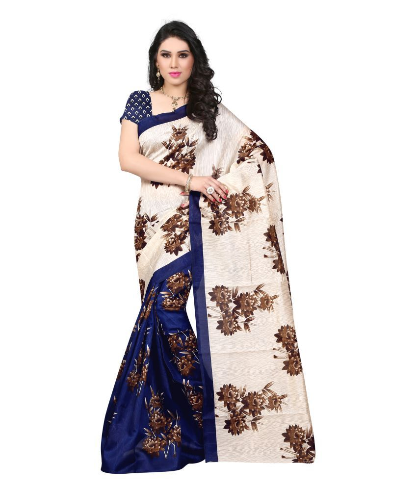 LASIM Multicoloured Art Silk Saree