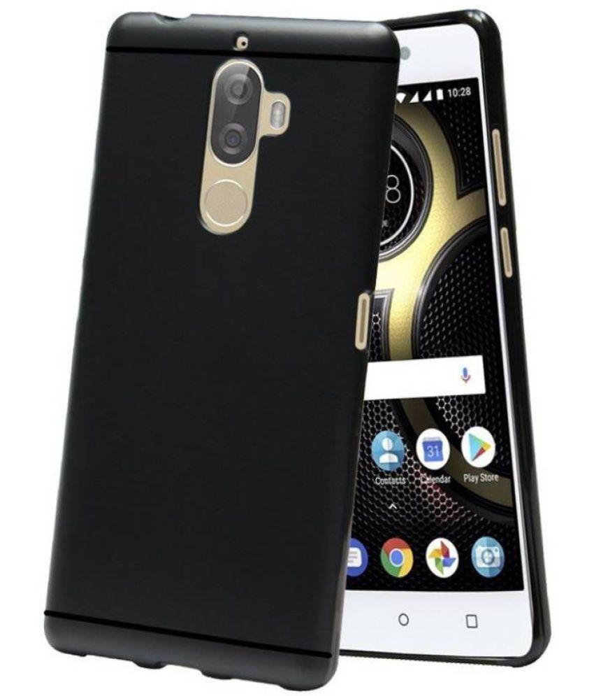Lenovo K8 Note Plain Cases MAXX3D - Black SHOCK PROOF