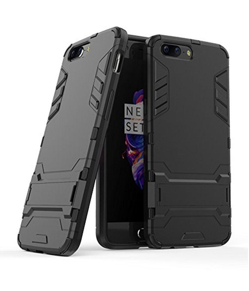 OnePlus 5 Plain Cases Dream2Cool - Black