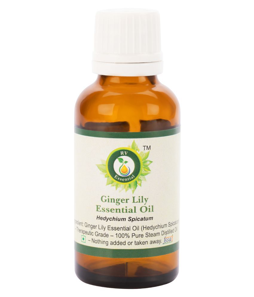R V Essential Pure Ginger Lily Essential Oil Essential Oil 30 ml