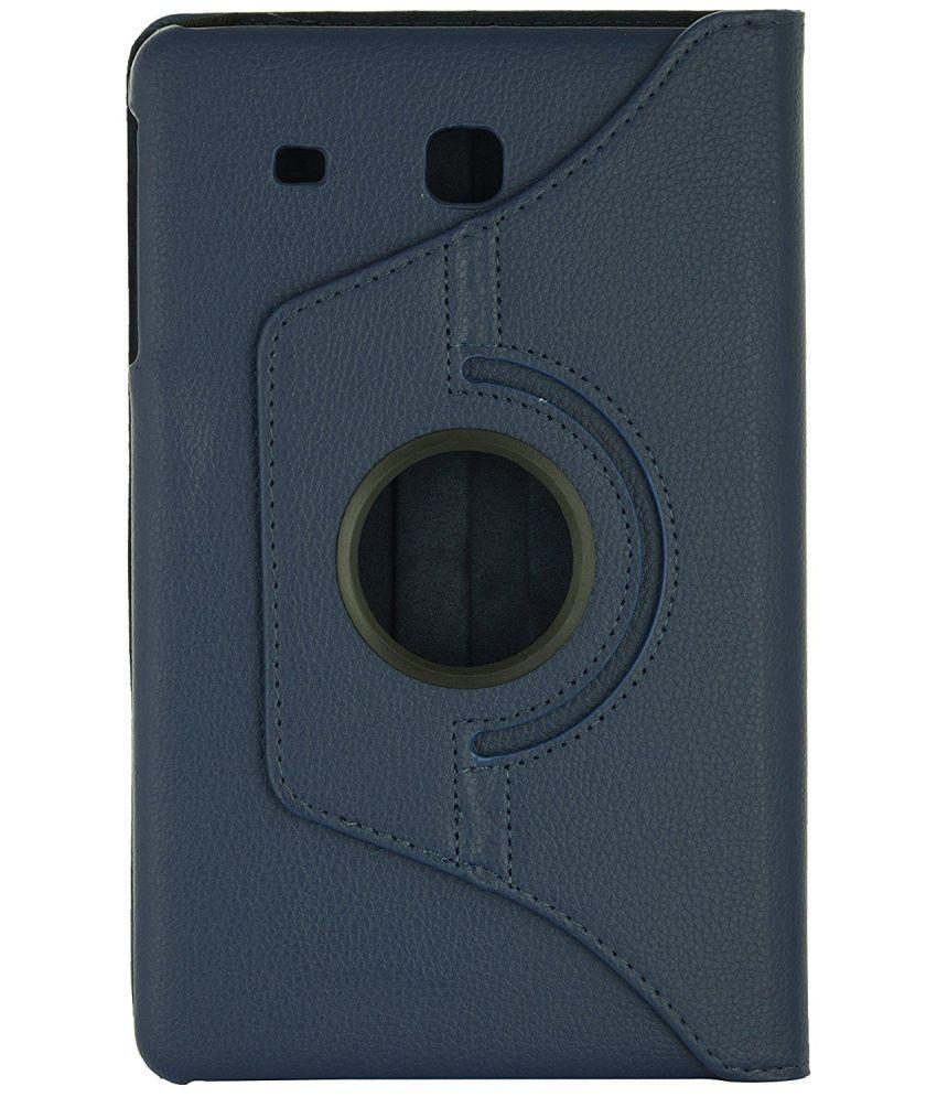 reputable site 4007f 02015 Samsung Galaxy Tab E 9.6 Flip Cover By San Pareil Blue