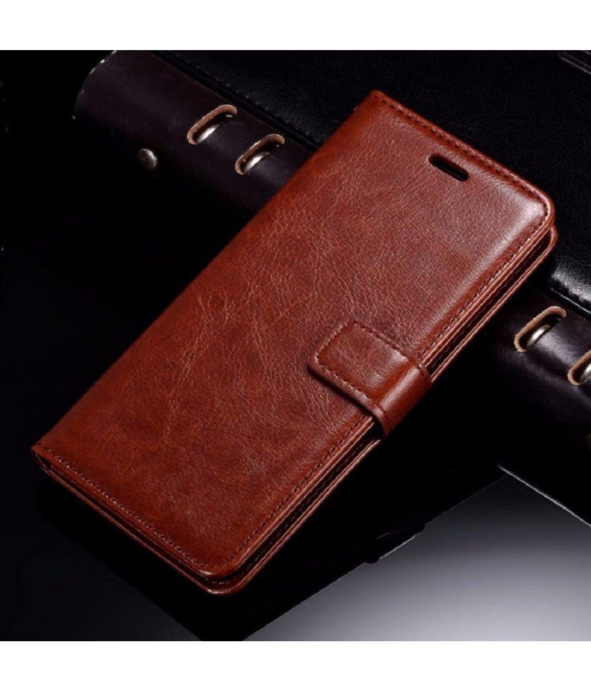 sale retailer 5e6ba fa2a0 XIAOMI MI MAX 2 Flip Cover by XORB - Brown
