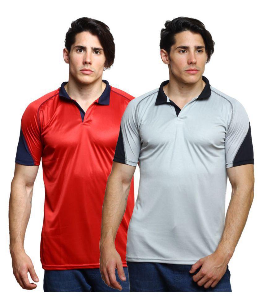 Grand Bear Multi Half Sleeve T-Shirt Pack of 2