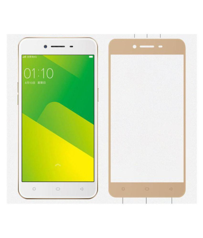 Oppo A37 Color Glass Screen Guard By Mobilekabazaar