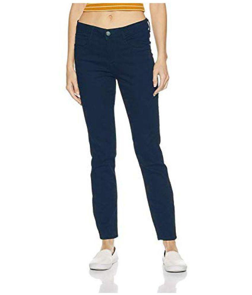 SHOPPERS Cotton Jeans - Blue