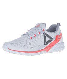 Reebok Zpump Fusion 2.0 Gray Running Shoes