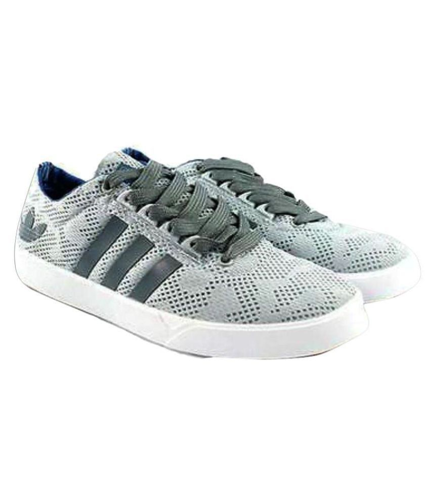 3ef5bc1b0056 Adidas Neo 2 Sneakers Gray Casual Shoes - Buy Adidas Neo 2 Sneakers Gray  Casual Shoes Online at Best Prices in India on Snapdeal