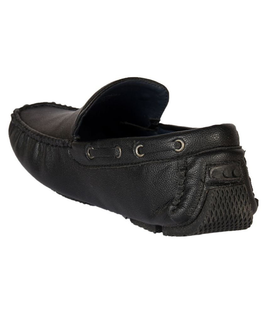 614d6660ade Duke Black Loafers - Buy Duke Black Loafers Online at Best Prices in ...