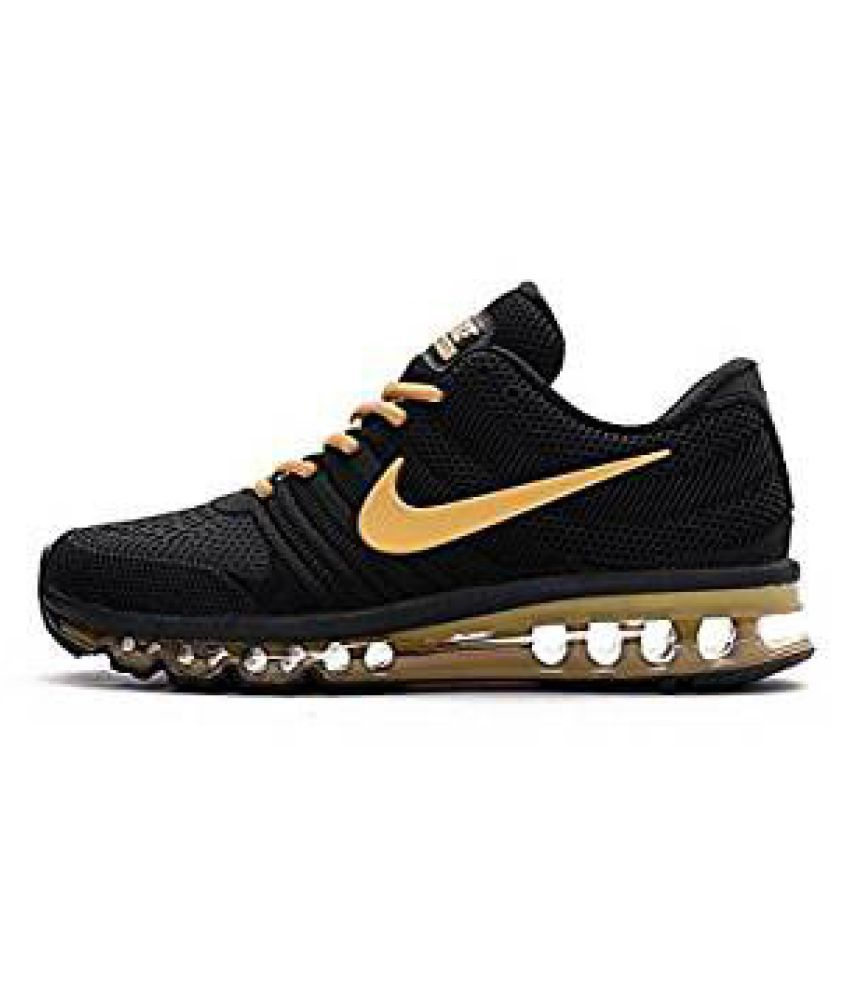 100% authentic 7e757 81bc3 Nike Airmax 2018 Gold Running Shoes