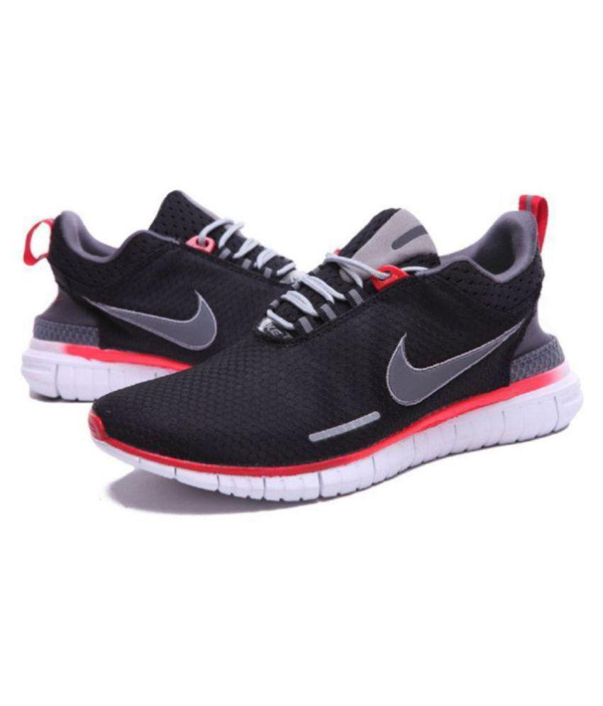 615f2153ff4a Nike Free OG Breeze Black Running Shoes - Buy Nike Free OG Breeze ...