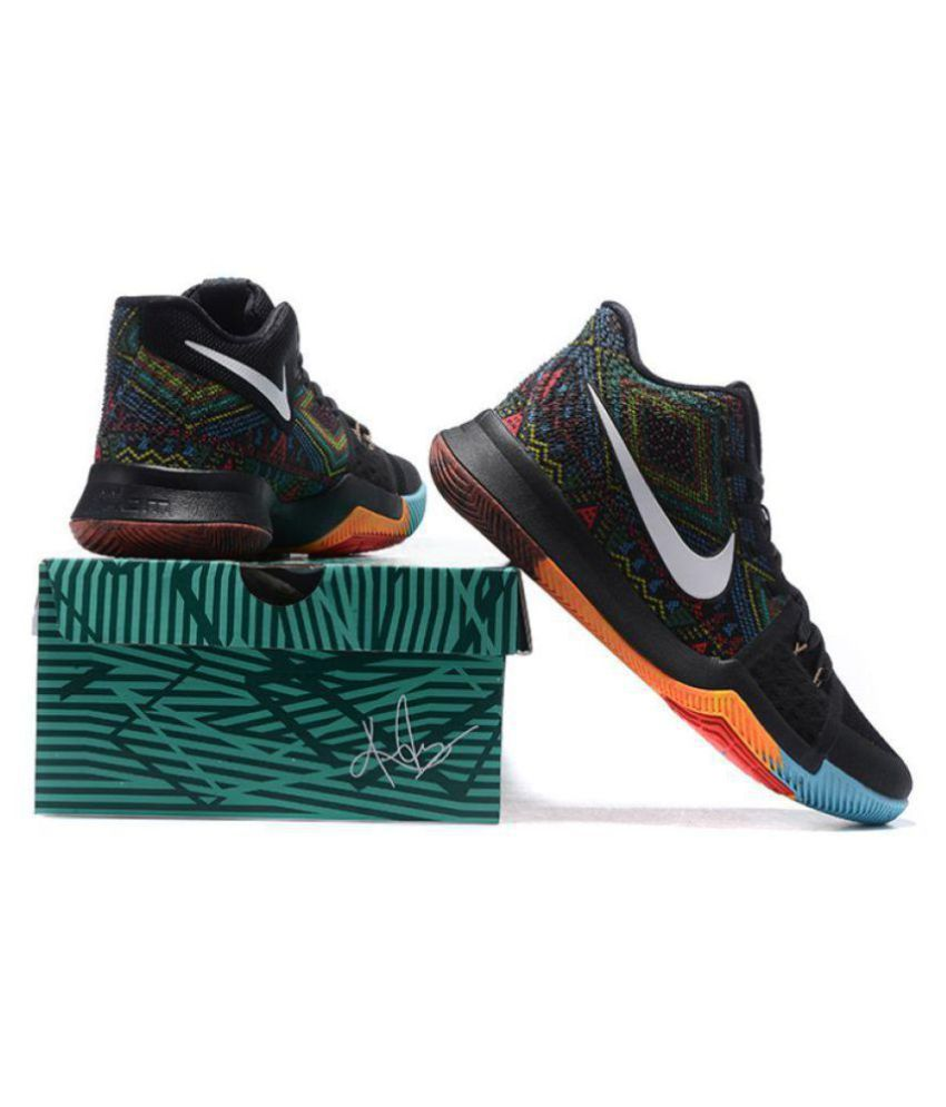 sale retailer 3e6f7 bd55f Nike Kyrie 3 Multi Color Basketball Shoes - Buy Nike Kyrie 3 Multi Color  Basketball Shoes Online at Best Prices in India on Snapdeal