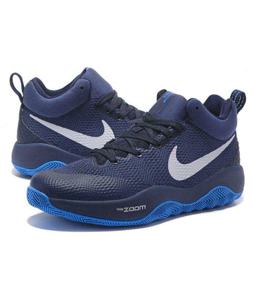 Nike ZOOM HYPER REV Blue Basketball Shoes - Buy Nike ZOOM HYPER REV ... d25f2385a