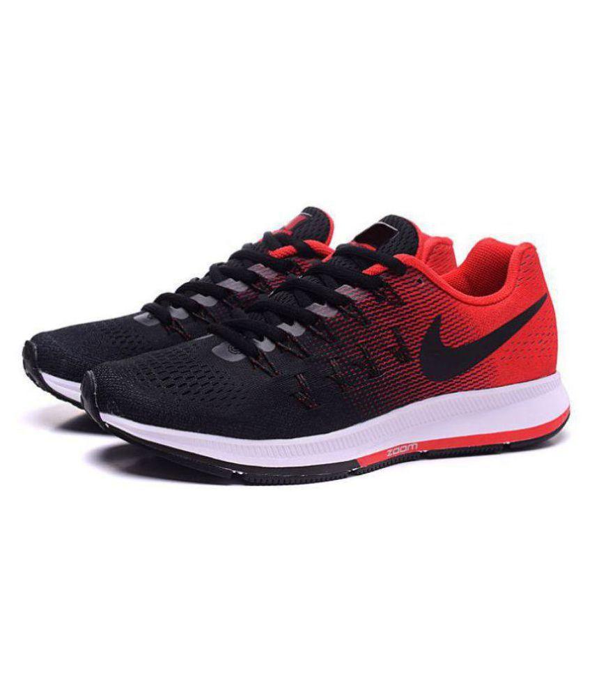9eb5e6415068d Nike Zoom Pegasus 33 Black Running Shoes - Buy Nike Zoom Pegasus 33 ...
