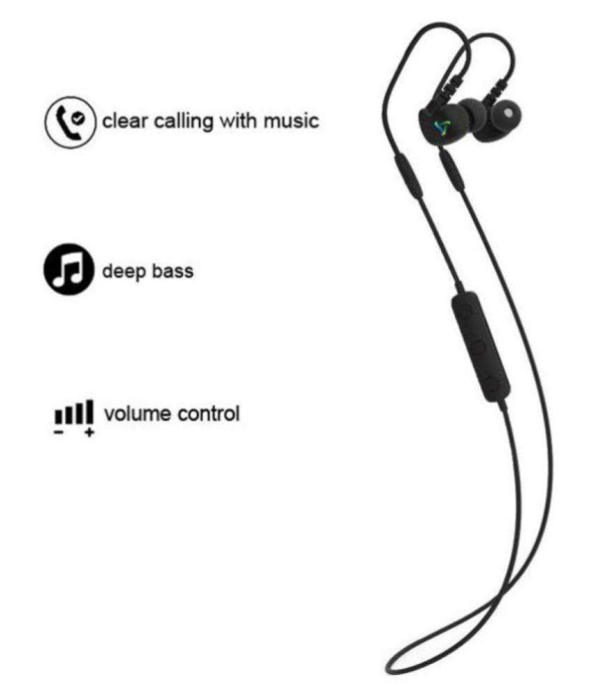 e8aac67b8e3 Syska H-13 Wireless Bluetooth Headphone Black - Bluetooth Headsets ...