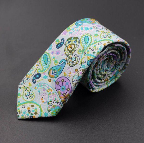 Kamalife Multi Floral Cotton Necktie