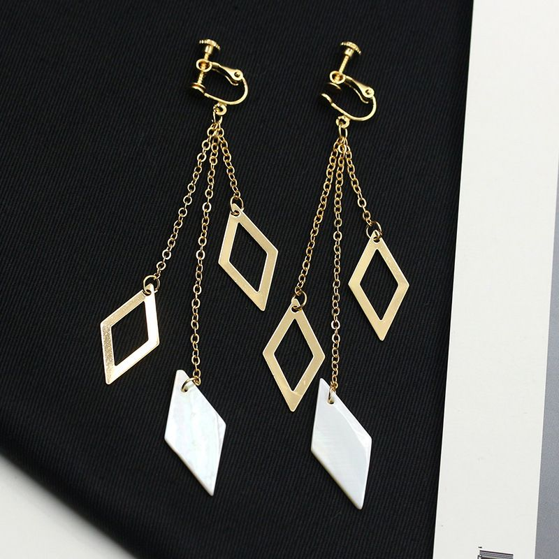 Levaso Fashion Jewelry Womens Earrings Ear Studs Alloy Geometric 1Pair Personality Gifts Multi Color