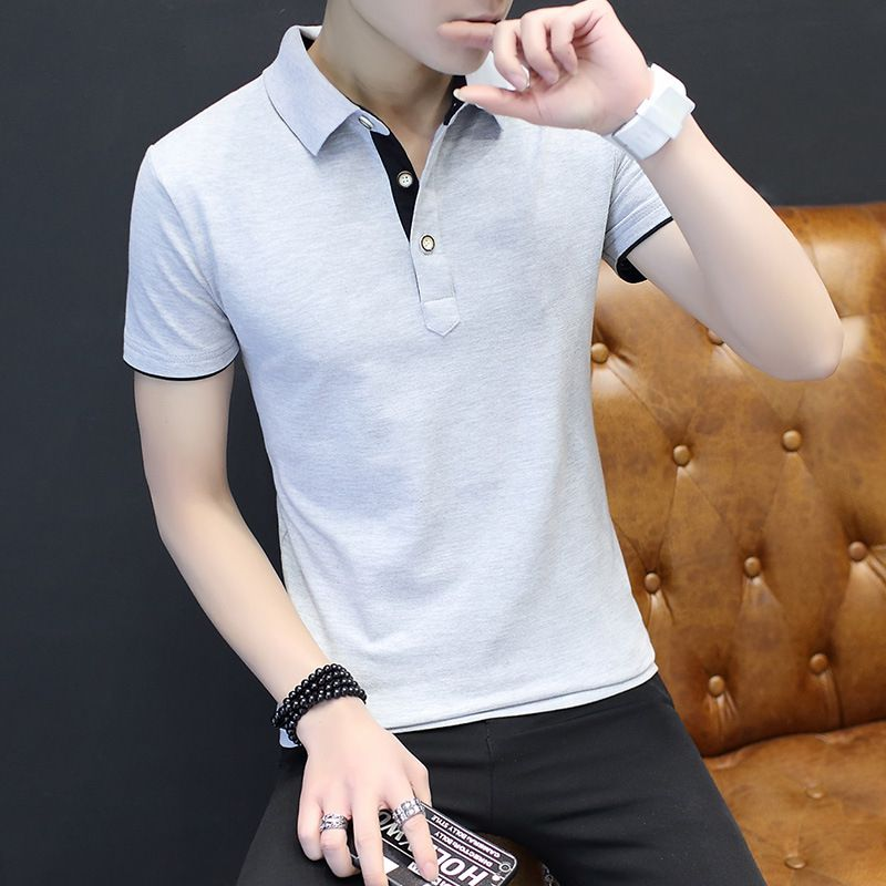 MagicShow Grey Cotton T-Shirt Single Pack