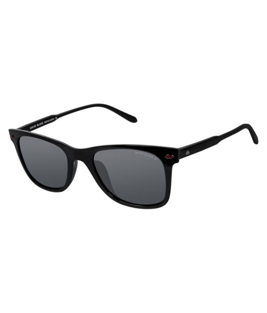 c52082d3dc7e David Blake Black Wayfarer Sunglasses ( SGDB1284 ) - Buy David Blake Black  Wayfarer Sunglasses ( SGDB1284 ) Online at Low Price - Snapdeal