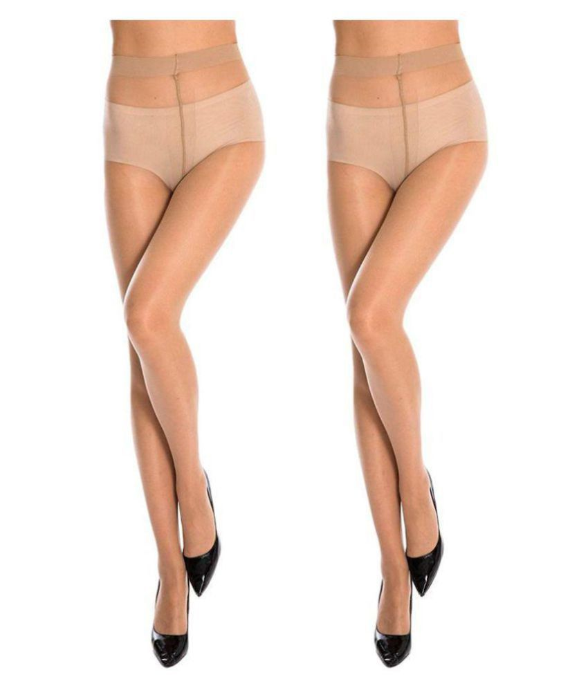 1c7a0f35283 Golden Girl Beige Sheer Pantyhose Stockings Tights - Pack Of 2  Buy Online  at Low Price in India - Snapdeal
