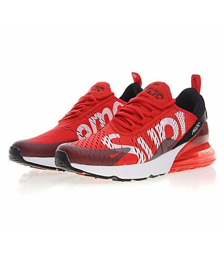 wholesale dealer 397cb 09475 ... Nike Air Max 270 Supreme Edition Red Running Shoes