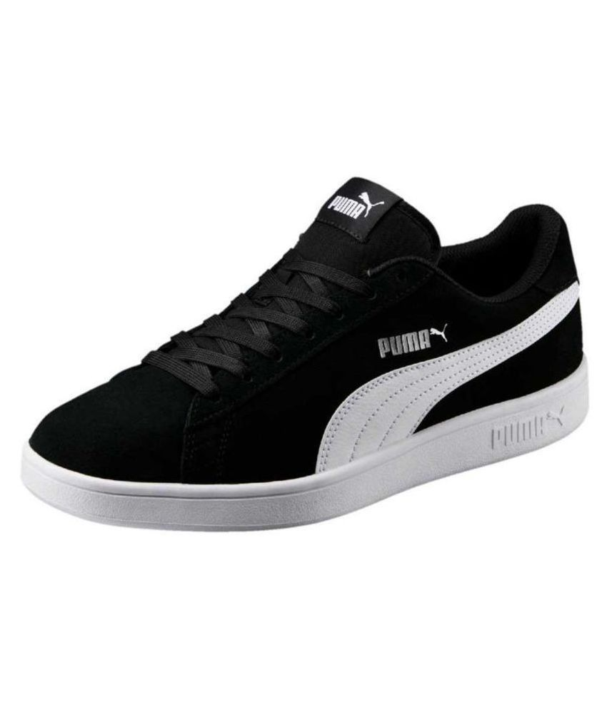 de99317e1a3 Puma Smash v2 Sneakers Black Casual Shoes - Buy Puma Smash v2 Sneakers Black  Casual Shoes Online at Best Prices in India on Snapdeal