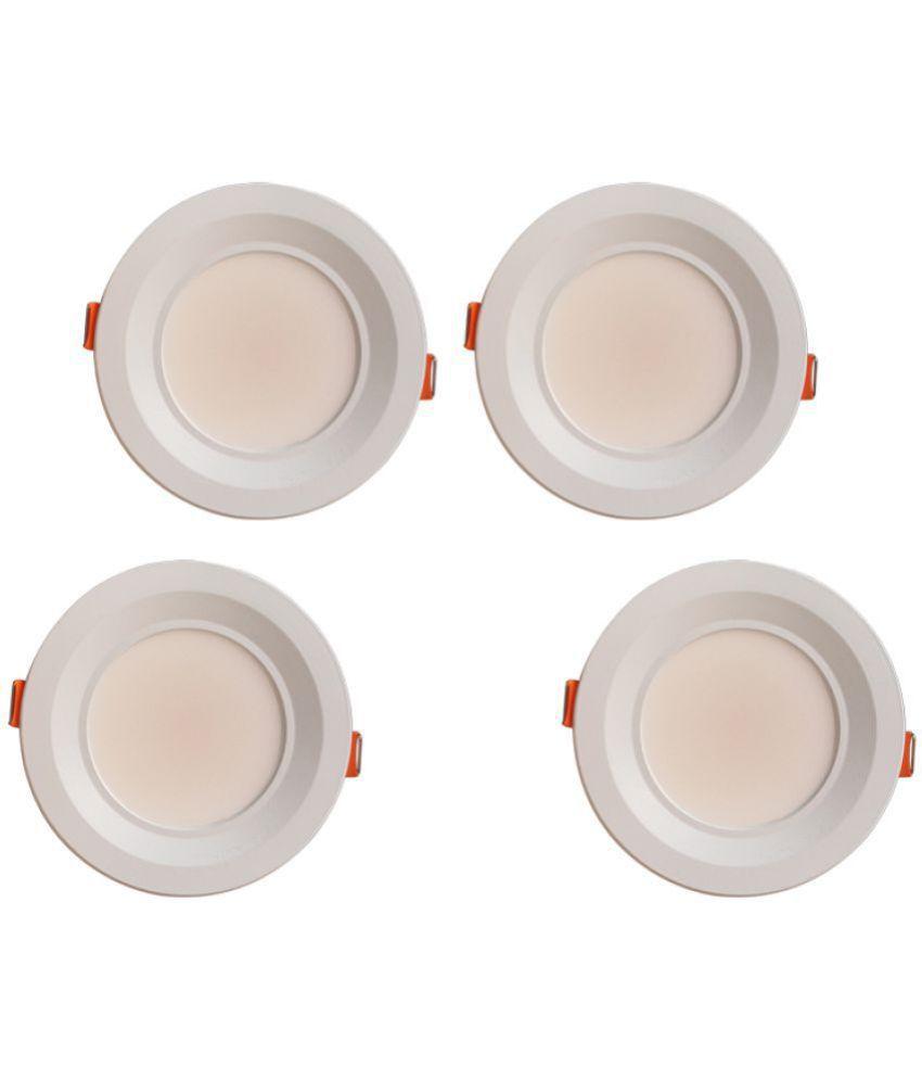 Bene 7W Round Ceiling Light 11 cms. - Pack of 4
