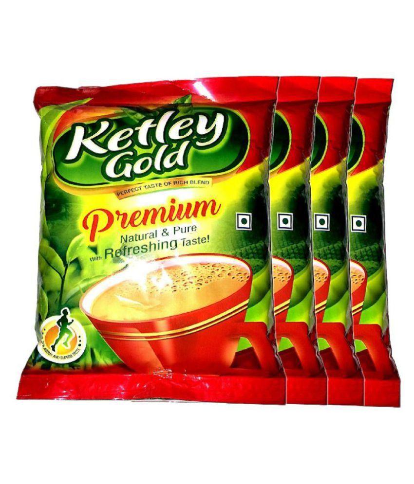 Ketley Gold Assam Black Tea Powder 250 gm Pack of 4