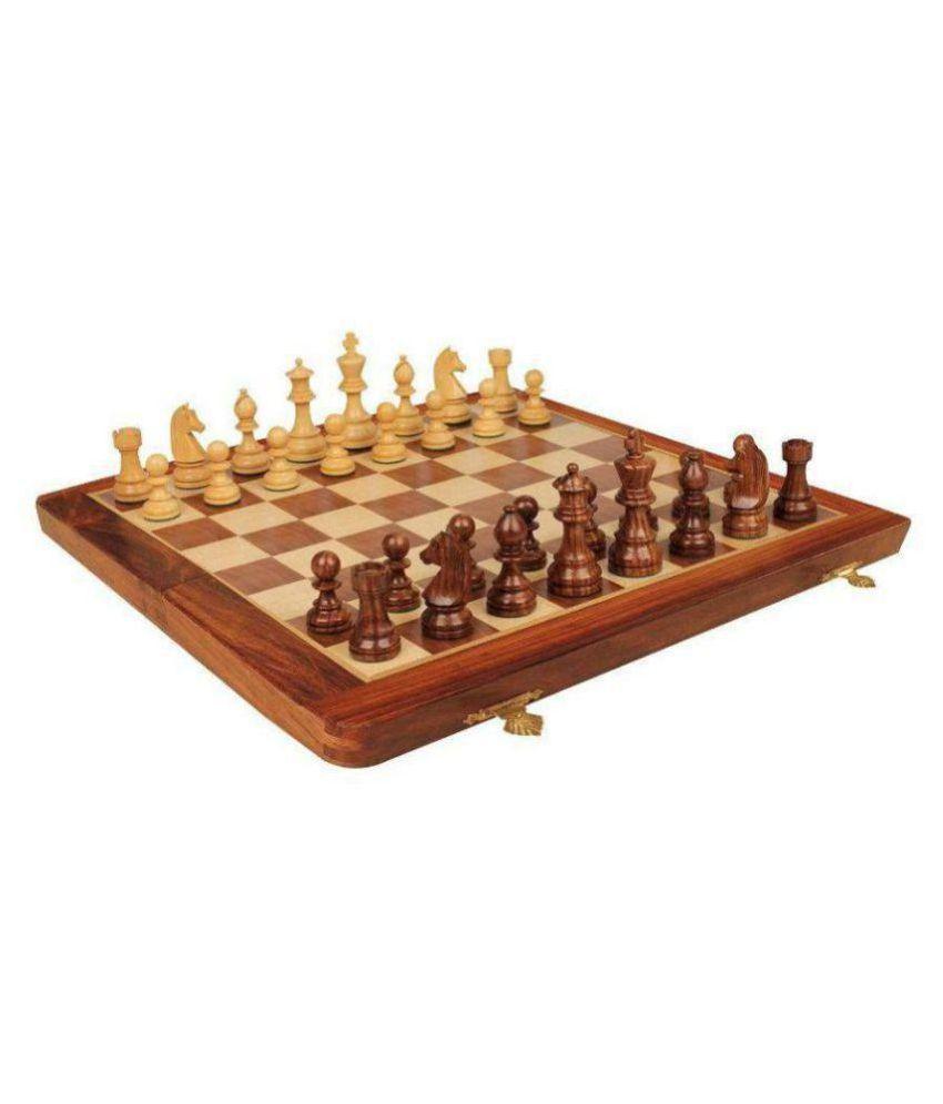 Khan Handicrafts Wooden Others Chess L