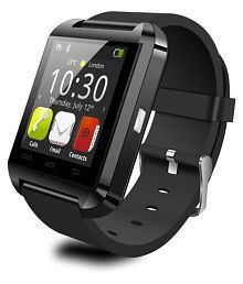 Jhapat U8 Bluetooth Smart Watch (Black) With Touch Screen Wearable Smart Devices