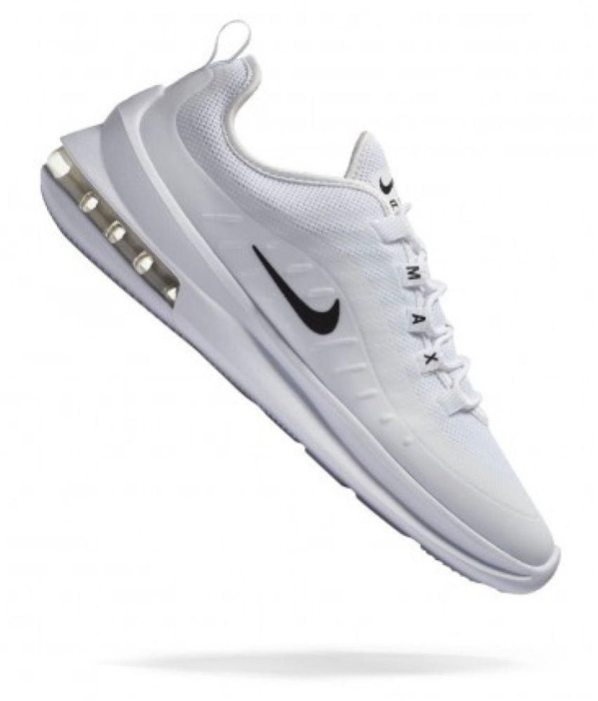 Nike AIRMAX AXIS White Running Shoes