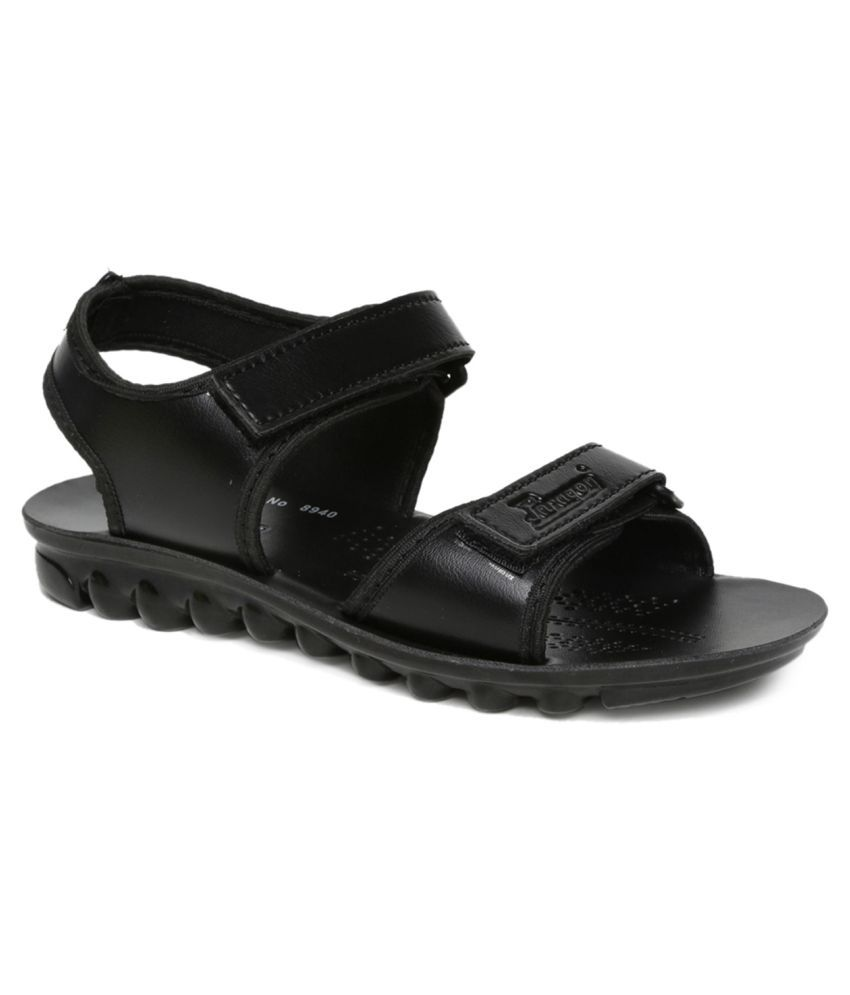 8582ad4bf Paragon P-TOES Kid s Black Sandals Price in India- Buy Paragon P-TOES Kid s Black  Sandals Online at Snapdeal