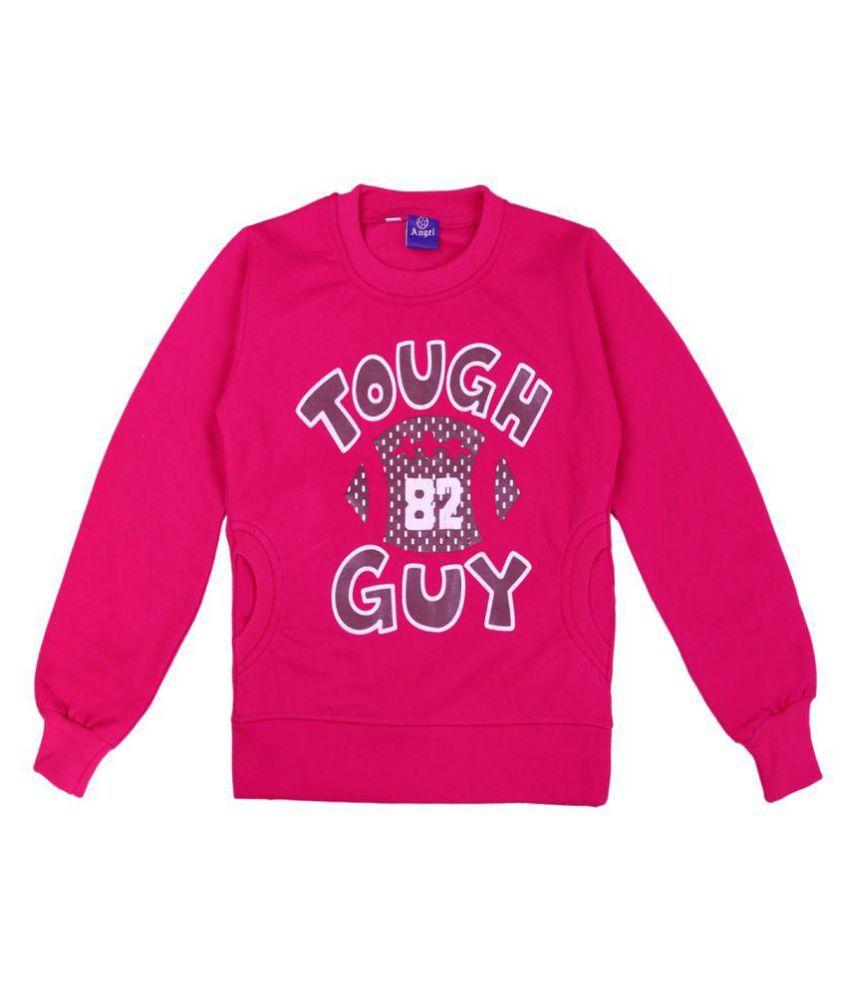 Sweatshirt  Pink Color for kids