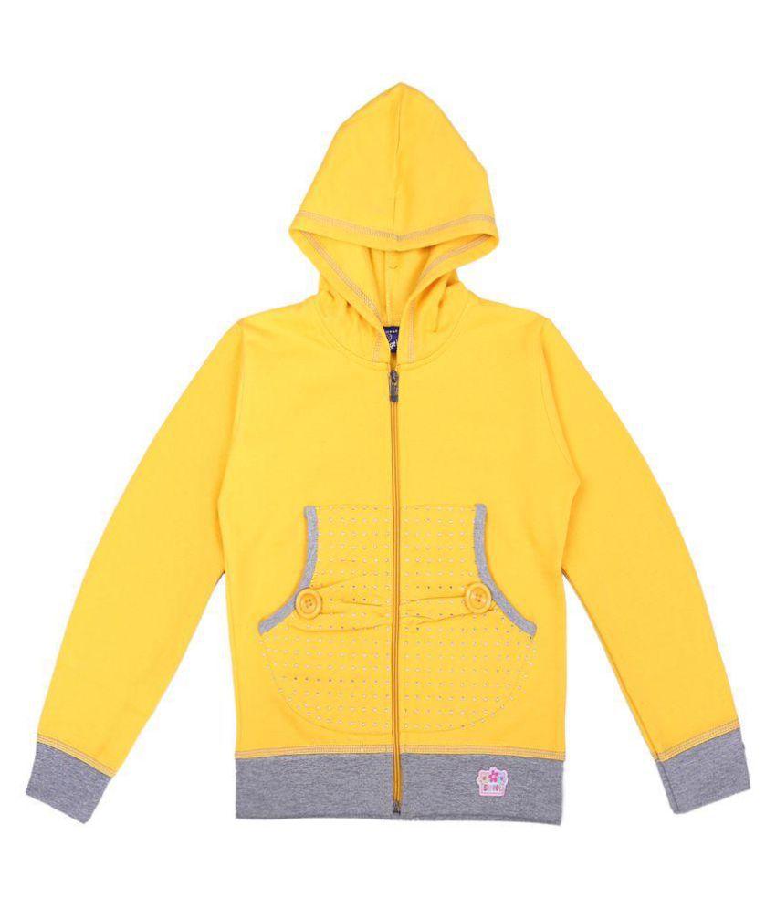 Sweatshirt  Yellow Color for kids