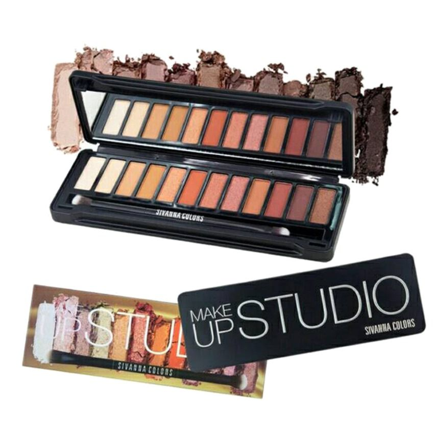 Sivanna Colors Makeup Studio 01 Eyeshadow Palette 12 Shades: Buy Sivanna Colors Makeup Studio 01 Eyeshadow Palette 12 Shades at Best Prices in India - ...