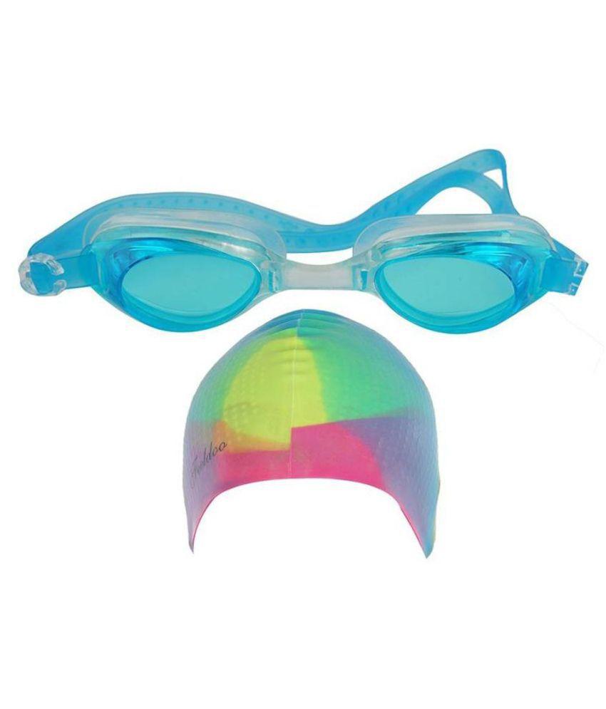 GLS Swimming Combo Kit   1 Swimming Cap  amp; 1 Swimming Goggle