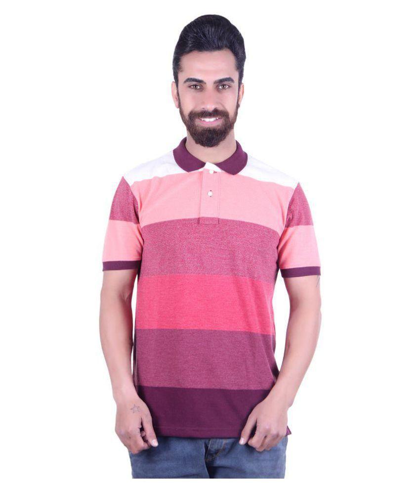 EMERA Red Half Sleeve T-Shirt