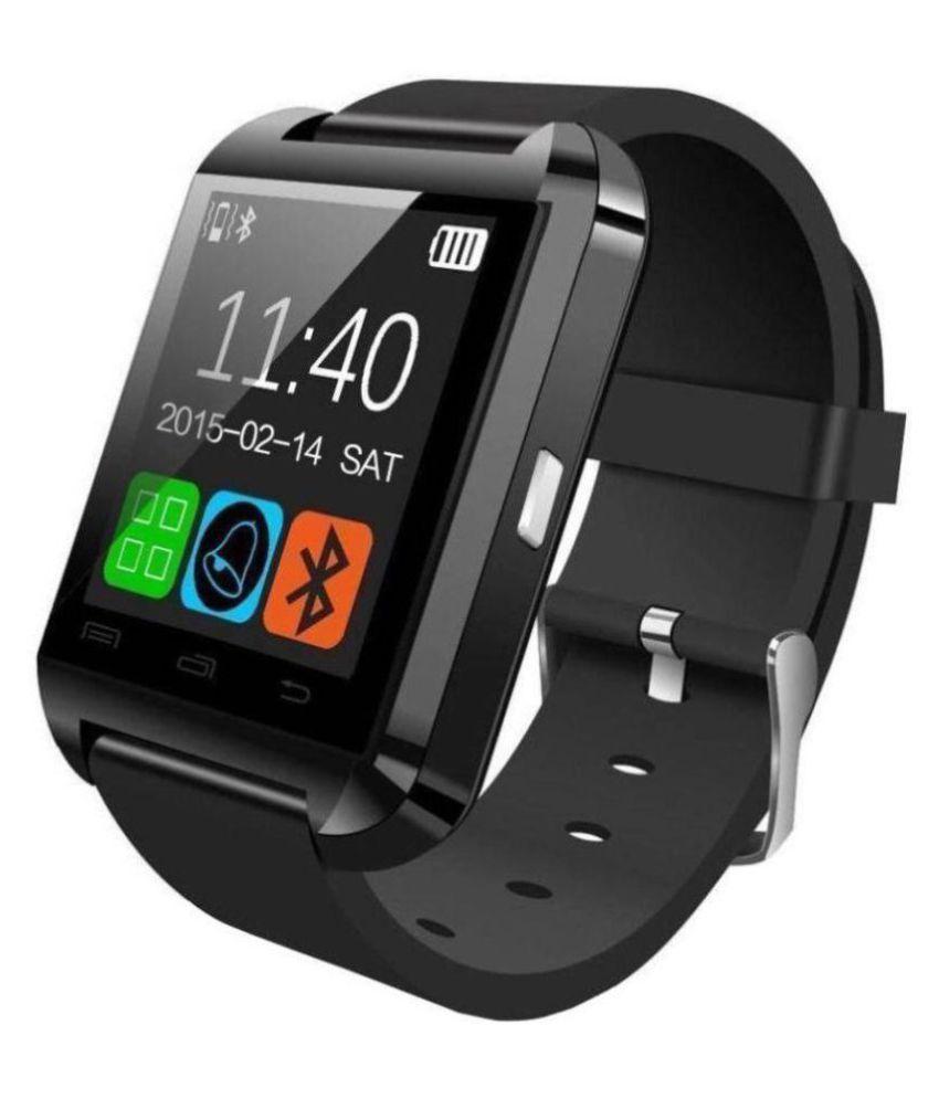 Junkyard U8 Smart Watches Black Smart Watches